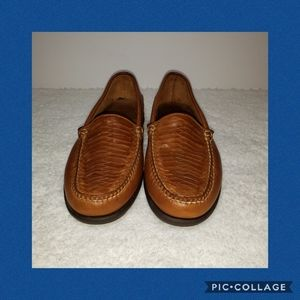 Sperry Top-Sider Brown Leather Loafers 8.5